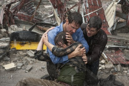 2014 Into the Storm shielding sons as Gary Fuller