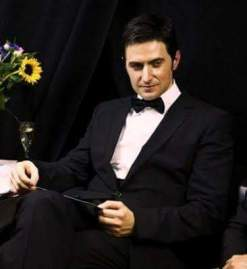 2010 waiting backstage to present at BAFTA Awards