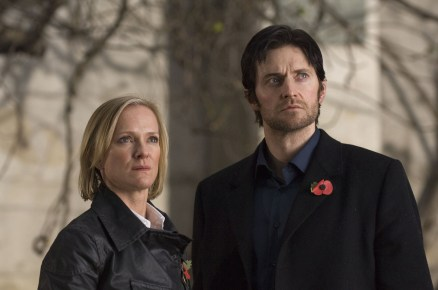 2008 as Lucas North in Spooks with Hermione as Roz