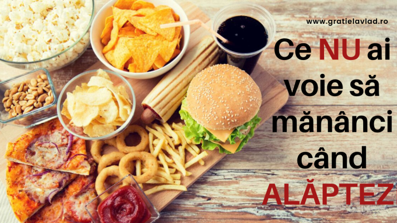 Ce NU ai voie sa mananci cand alaptezi! Alimente și ingrediente interzise si limitate ca și cantitate.
