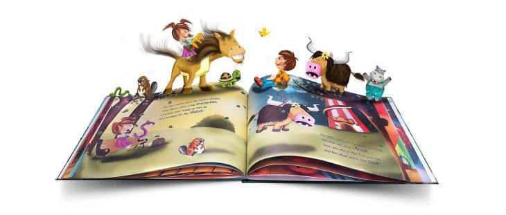 carte de povesti, magie, carte magica