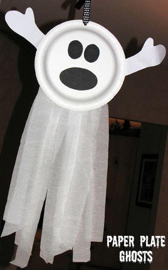 farfurie zburatoare de halloween fantoma