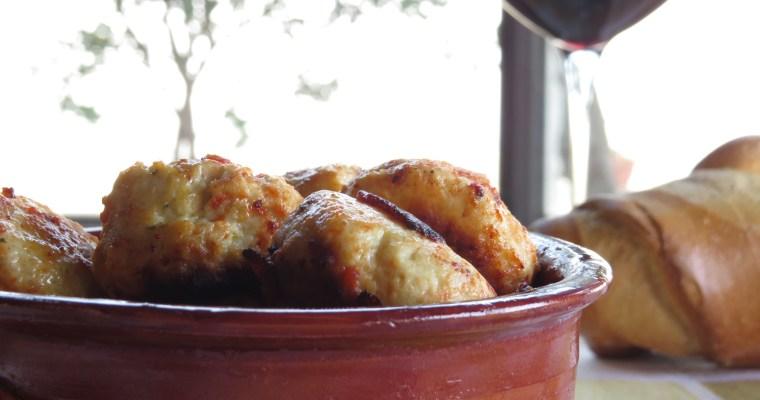 le polpette di pollo di homemade deligh
