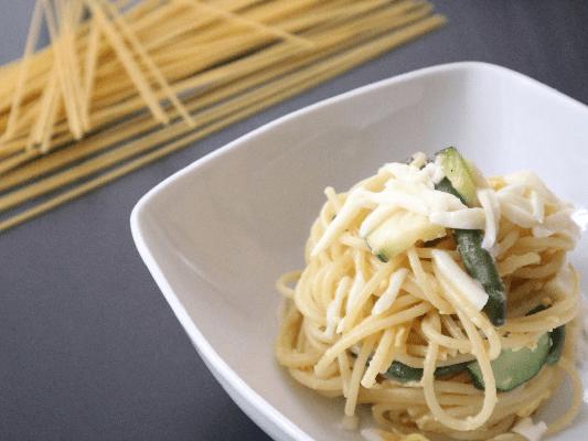 spaghetti alla carbonara di verdure