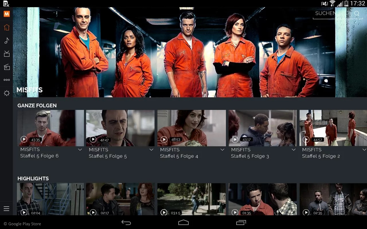 MyVideo App Video Entertainment Portal Fr Android Tablet