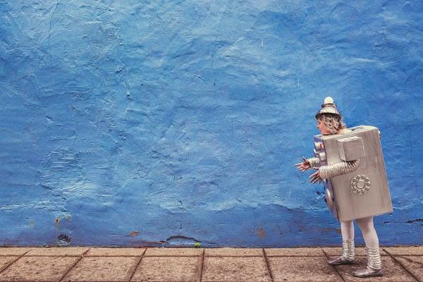 ロボットコスチューム無料写真