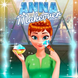 Disney Makeover Anna