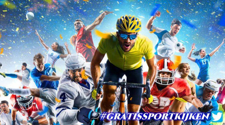 Kijk gratis sport via de sport livestreams