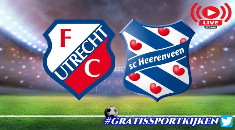 Livestream FC Utrecht - SC Heerenveen