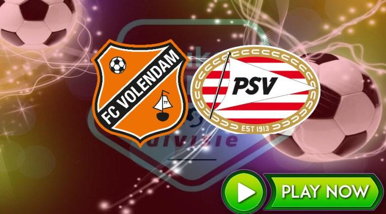 Livestream FC Volendam - Jong PSV