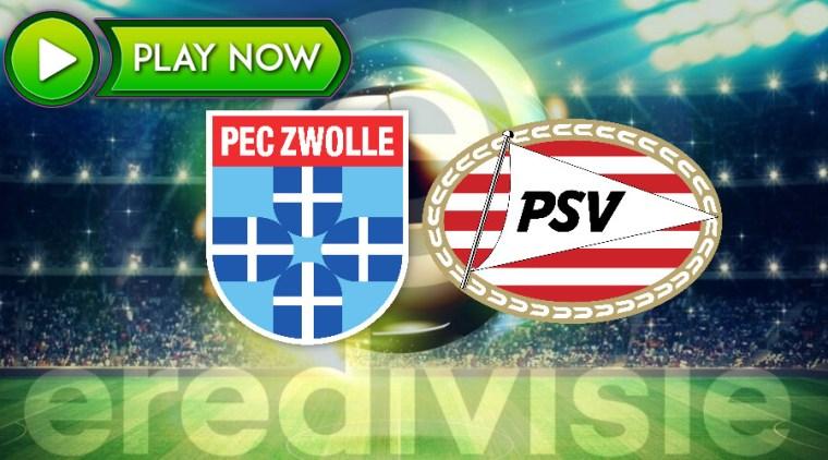 Livestream PEC Zwolle - PSV