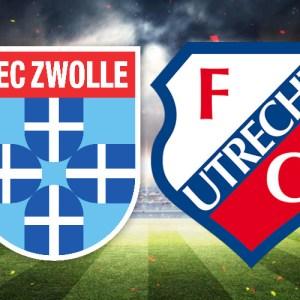 Livestream PEC Zwolle - FC Utrecht
