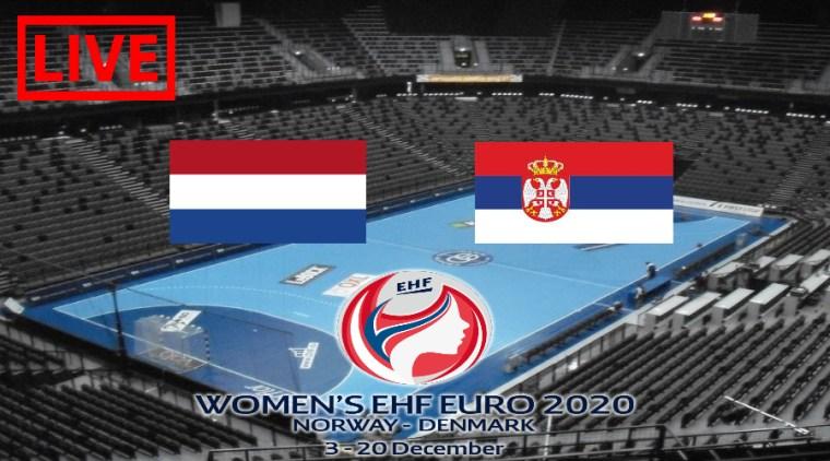 EK Handbal 2020 livestream Nederland - Servië