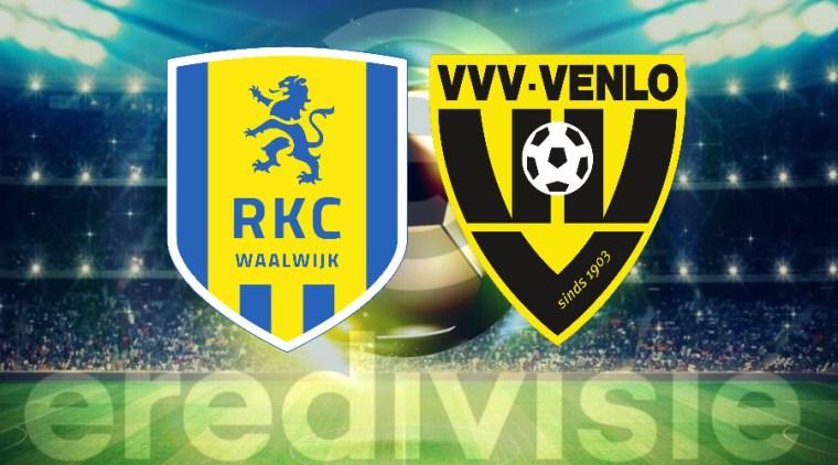 Livestream RKC Waalwijk - VVV Venlo