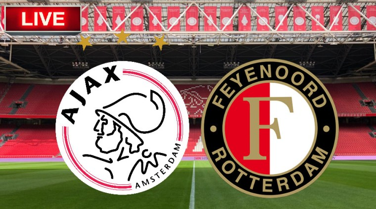 Kijk de Klassieker Ajax - Feyenoord via de livestream