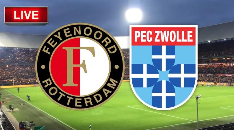 Livestream Feyenoord - PEC Zwolle
