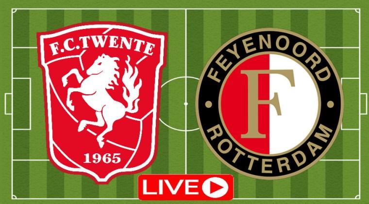 Kijk hier gratis via de livestream FC Twente - Feyenoord