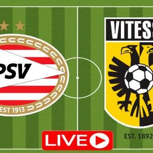 Kijk hier via de gratis livestream PSV - Vitesse