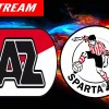 AZ - Sparta Rotterdam voetbal livestream