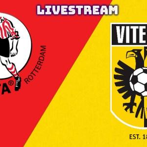 Livestream Sparta Rotterdam - Vitesse