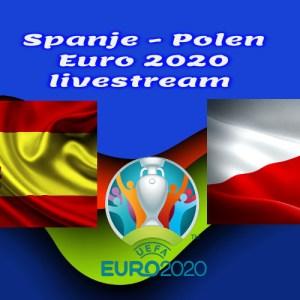 EK Voetbal live stream Spanje - Polen