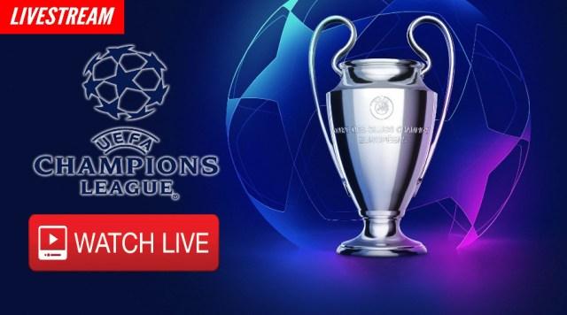 Kijk via een livestream Champions League voetbal