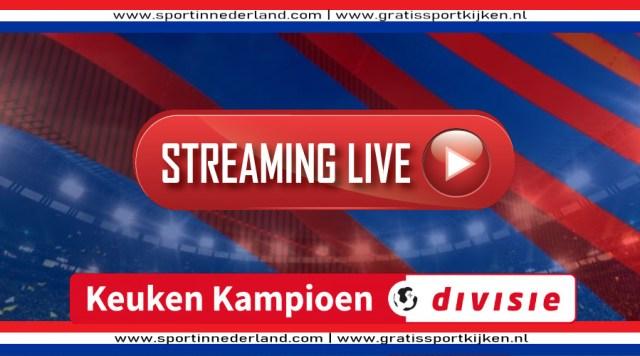 Livestream Keuken Kampioen Divisie