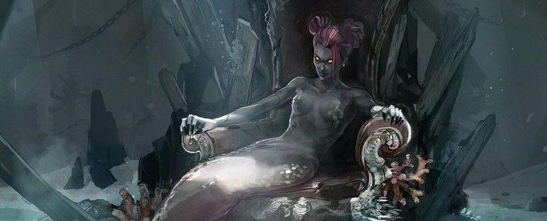 Berta, Abyssal Demon Art by Koni Art