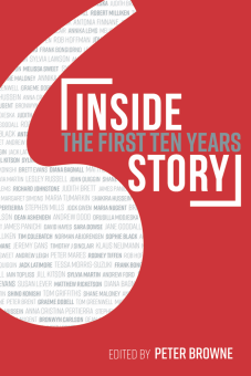 Inside Story: The FIrst Ten Years book cover, edited by Peter Browne