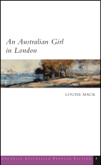 An Australian Girl in London cover