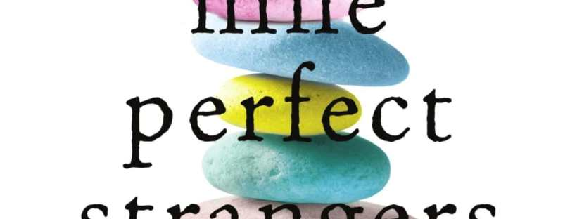 Cropped image of the cover of Nine Perfect Strangers by Liane Moriarty.