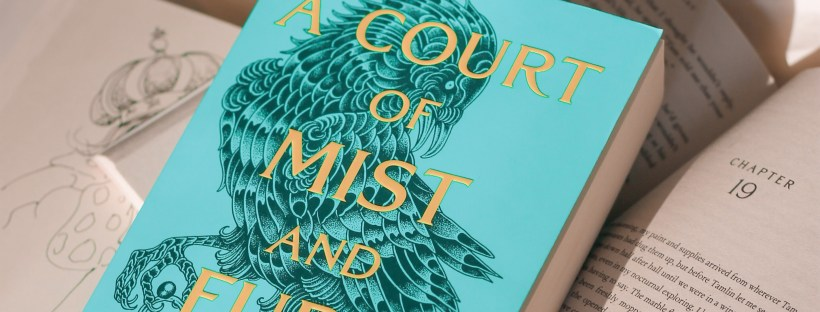 A copy of Sarah J. Maas's A Court of Mist and Fury.