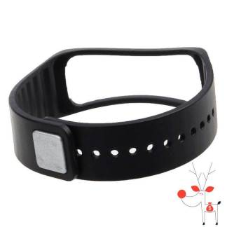 Curea bratara silicon fitness Samsung Galaxy Gear Fit, neagra