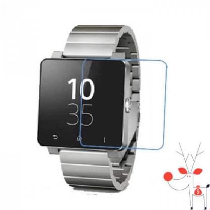 Folie protectie ecran ceas Sony SmartWatch 2 SW2, set 2 bucati