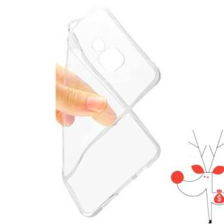 Husa de protectie Samsung Galaxy S6 edge, carcasa silicon spate telefon