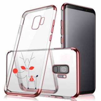 Carcasa protectie silicon Samsung Galaxy S9, husa spate telefon