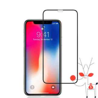 Folie sticla securizata iPhone XS Max, full body 3d, tempered glass