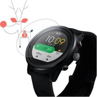 Folie protectie Huami AMAZFIT 2 2S, ultra clear ecran ceas Smartwatch