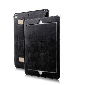 Husa Apple iPad Mini 4, carcasa protectie flip cover tip carte