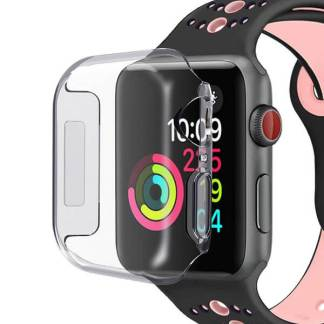 Carcasa silicon Apple Watch Series 4, 44mm