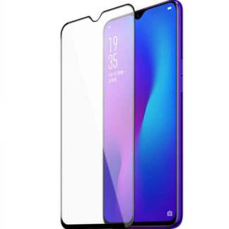 Folie sticla OPPO Realme 3, Full Cover 3D, Tempered Glass, protectie ecran telefon
