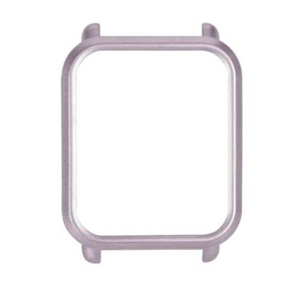 Rama protectie Xiaomi Huami Amazfit Bip, carcasa tip bumper, gri