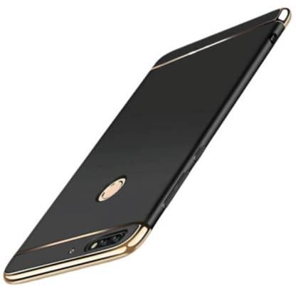Carcasa electroplacata Huawei Y3 2017, husa slim protectie spate
