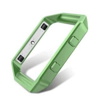 Carcasa metalica protectie Fitbit Blaze, rama tip bumper aluminiu