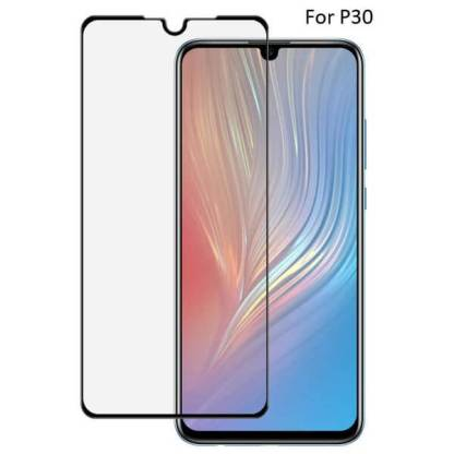Folie sticla Huawei P30, Full Cover 3D, Tempered Glass, protectie ecran telefon