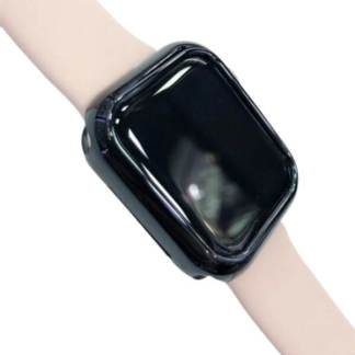 Husa silicon Apple Watch 4, bumper protectie margini ceas smartwatch