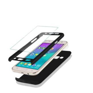 Carcasa protectie Samsung Galaxy A9 (2018), 3in1, husa 360 grade full cover telefon