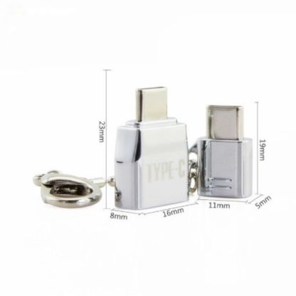 breloc-set-adaptoare-otg-type-c-port-mama-tata-adaptor-tip-micro-usb