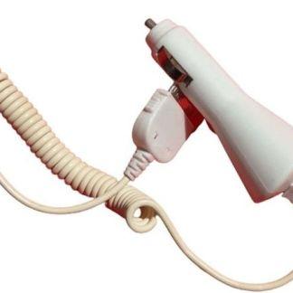 Incarcator Auto Cablu Spiralat Iphone Ipod, Mufa Usb Bricheta Masina