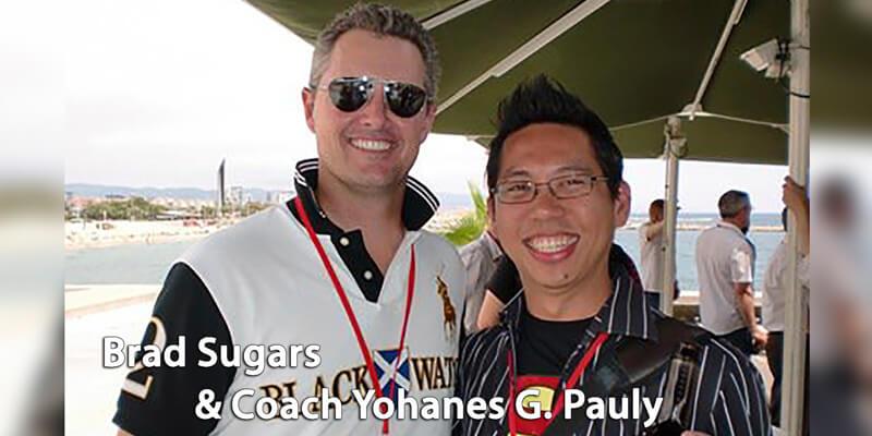 Brad Sugars & Coach Yohanes G. Pauly